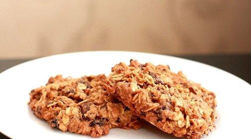 Печенье с овсяными хлопьями рецепт с фото