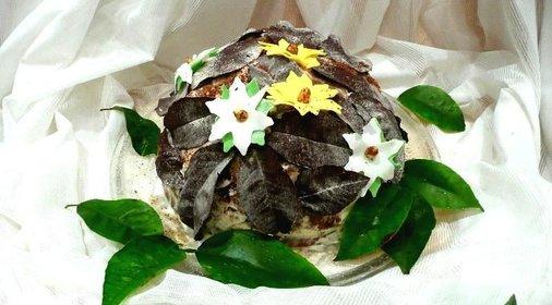 Готовим дома рецепты с фото торт опавшие листья
