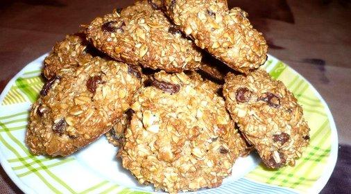 Рецепт овсяного печенья в домашних условиях без масла