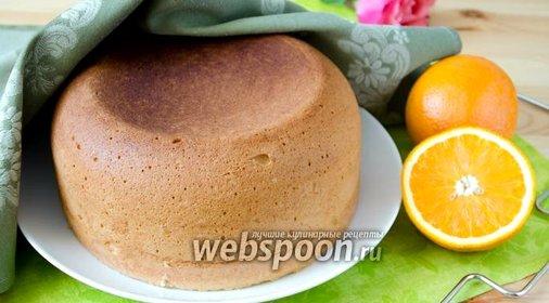 Апельсиновый бисквит в мультиварке пошаговый рецепт
