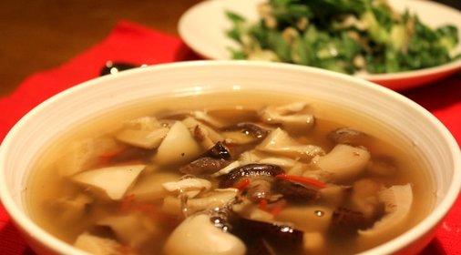 Крем суп из вешенок рецепт с фото
