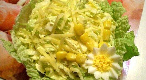 Салат капустой рецепт фото пошагово