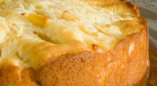 Яблочного пирога с творогом для мультиварки