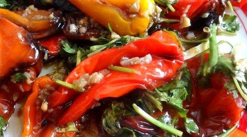 Сладкий перец в духовке рецепты с фото