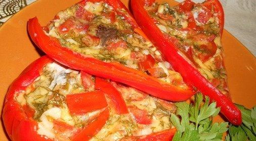 Фаршированный свежий перец рецепт с фото