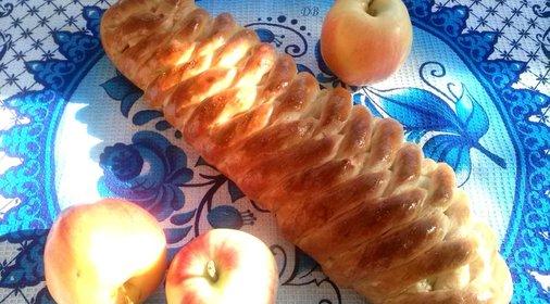 рецепты сдобы с яблоком фото