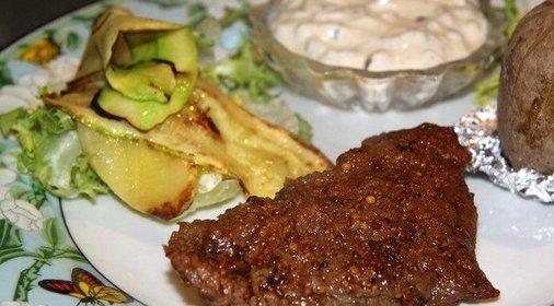 Рецепт мяса с горчицей в духовке