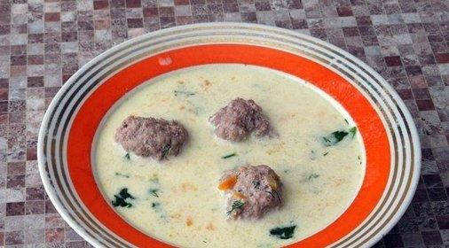 Суп фаршем пошаговый рецепт фото
