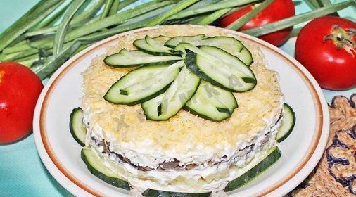 Салат с черносливом с фото пошаговым приготовлением