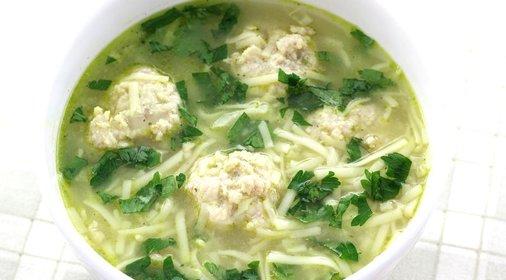 фото рецепт супа с фрикадельками мультиварке