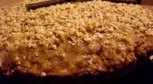 Морковный пирог с яблоком рецепт с фото