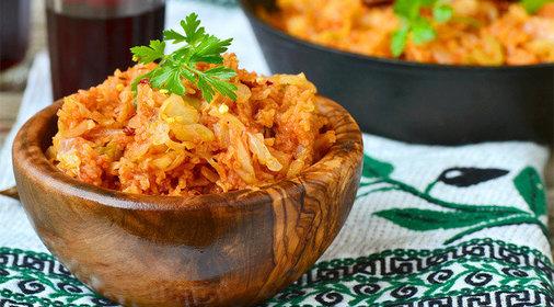 Тушить капусту с мясом рецепт с фото