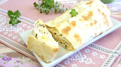 Пирог с сулугуни рецепт пошагово