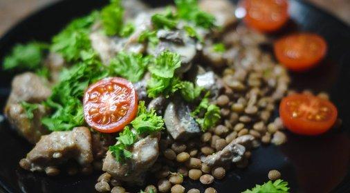 Чечевица грибами рецепты фото