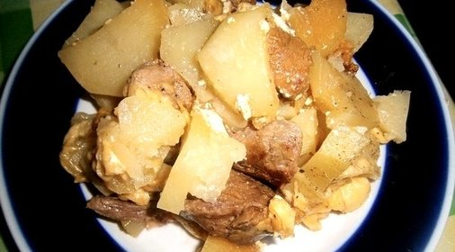Картошка мультиварке пошаговый рецепт с фото