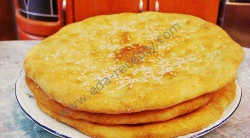 Вкусные домашние лепешки на сковороде