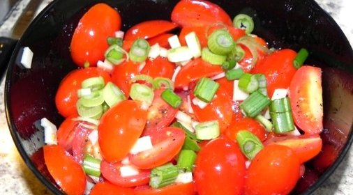 Салаты помидор фото