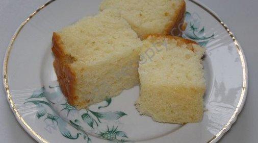 Сладкий пирог из ничего рецепт