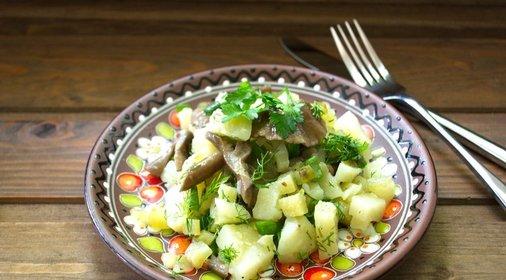 Блюда из опят рецепты с фото простые