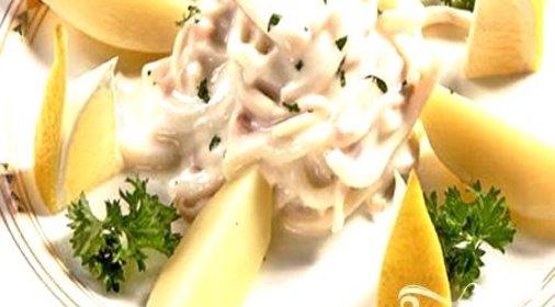 простое блюдо из кальмара рецепты с фото