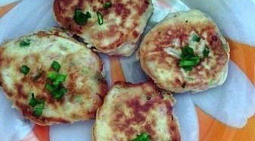 Оладьи с колбасой рецепт с фото