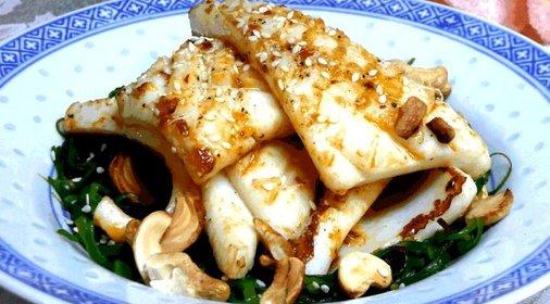горячие блюда из кальмаров рецепты с фото