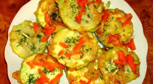 Кабачки на сковороде рецепт с фото пошаговый