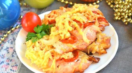 Куриное мясо французски рецепт фото