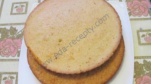 Простой бисквитный корж рецепт фото