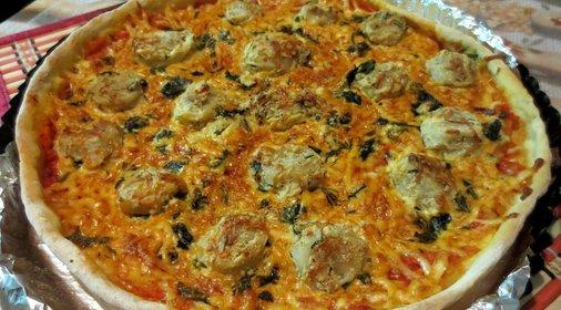 Пицца из пельменей рецепт с фото