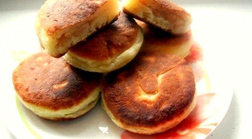 сырники с начинкой рецепт с фото