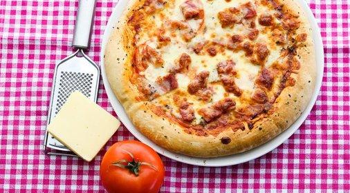 Пицца на кефире рецепт с фото пошагово