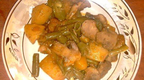 Рагу в духовке рецепт с фото пошагово