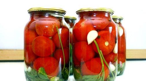 Консервируем помидоры рецепты фото